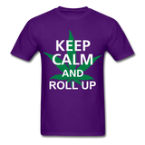 Roll Up Tee - purple