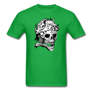 King Skull Tee - bright green
