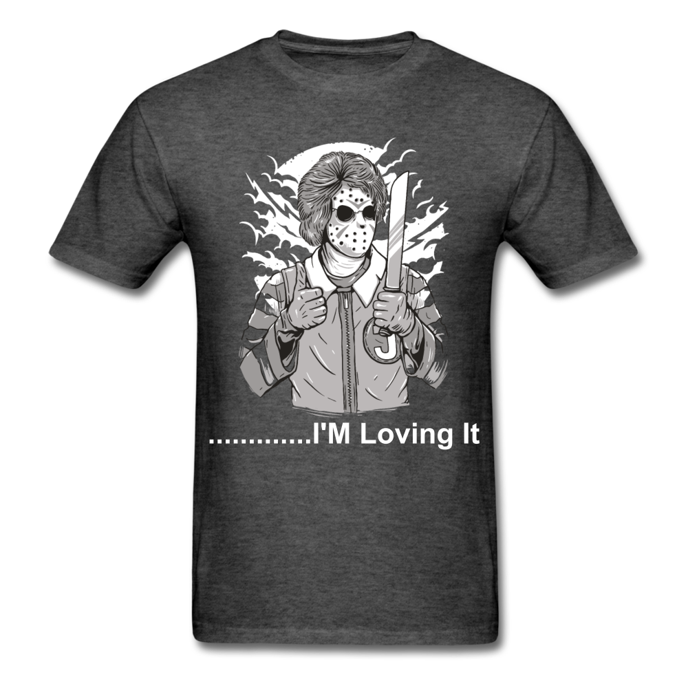 Loving it Tee - heather black