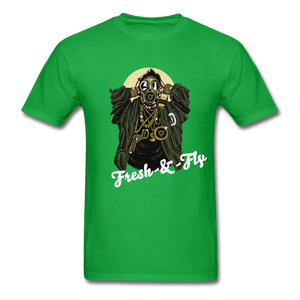 Fresh-&-Fly Tee - bright green