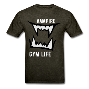 Vamp Gym Tee - mineral black