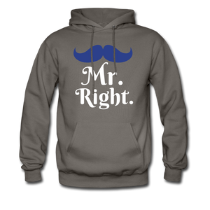 Mr. Right - asphalt gray