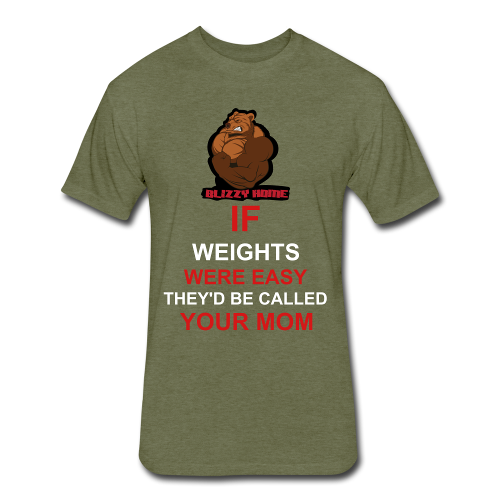 Easy Weights - heather military green