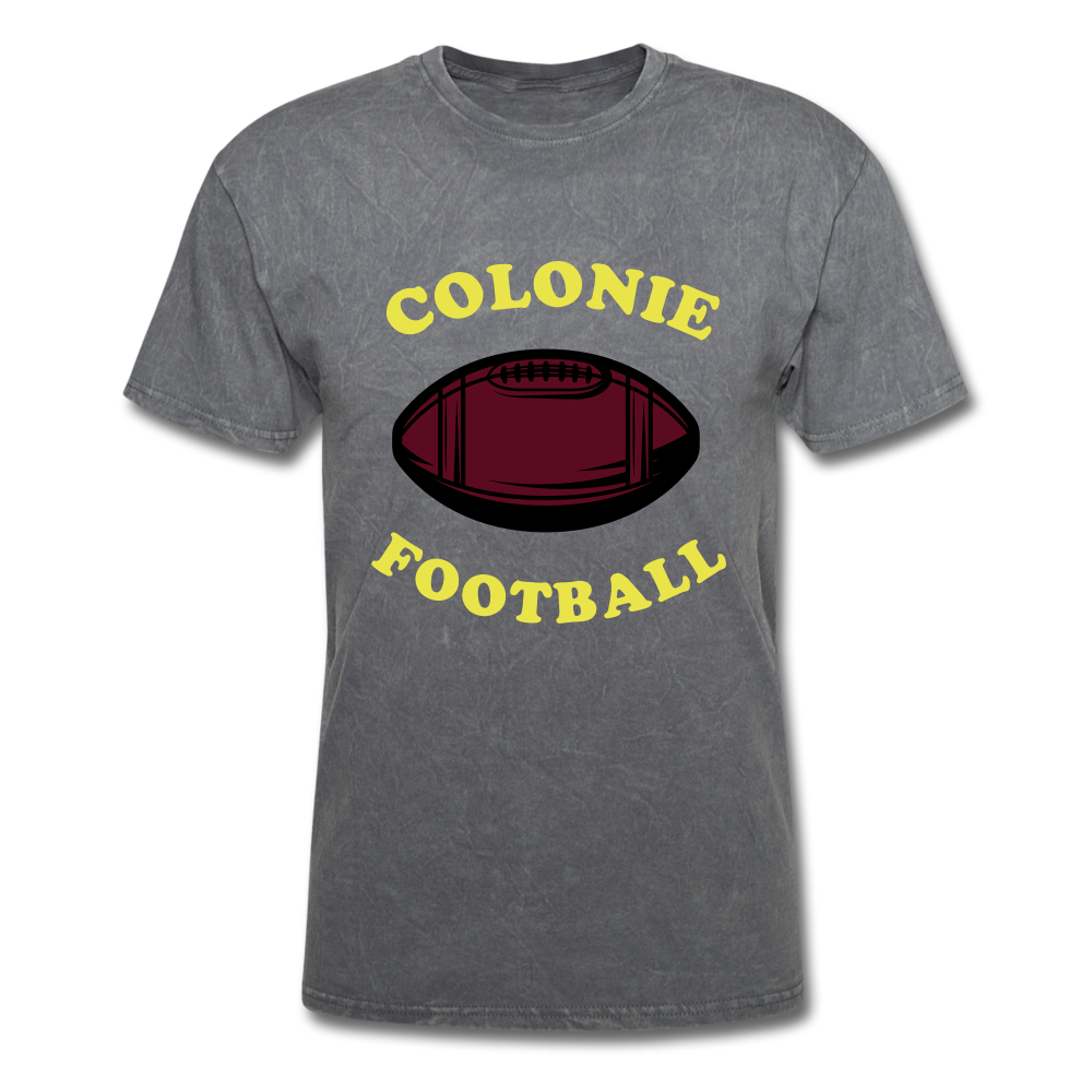 Colonie Football Tee - mineral charcoal gray