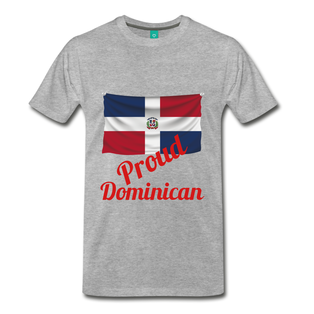 Proud Dominican - heather gray