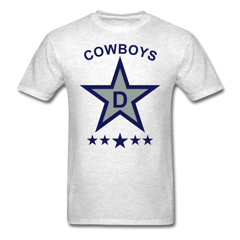 Dallas Tee - light heather grey