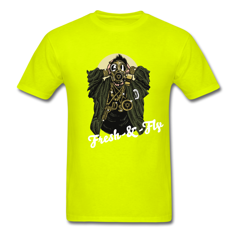 Fresh-&-Fly Tee - safety green