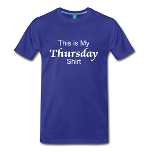 Thursday Shirt - royal blue