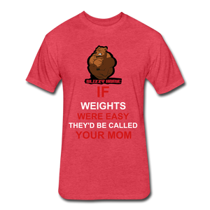 Easy Weights - heather red