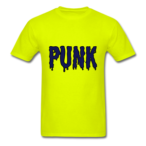 Punk Tee - safety green