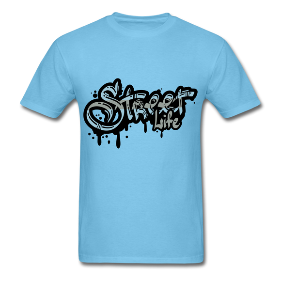 Street Tee - aquatic blue