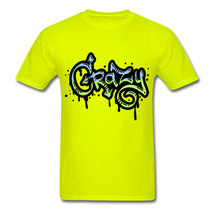 Crazy Tee - safety green