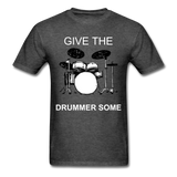 Drummer Tee - heather black