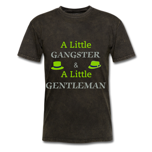 Ganster & Gentleman Tee - navy