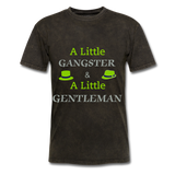 Ganster & Gentleman Tee - mineral black