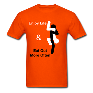 Eat Out Tee - orange