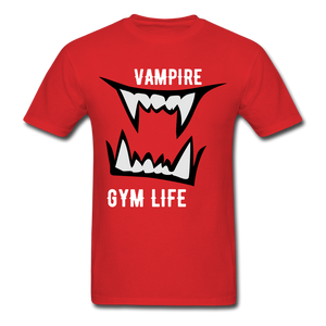 Vamp Gym Tee - red