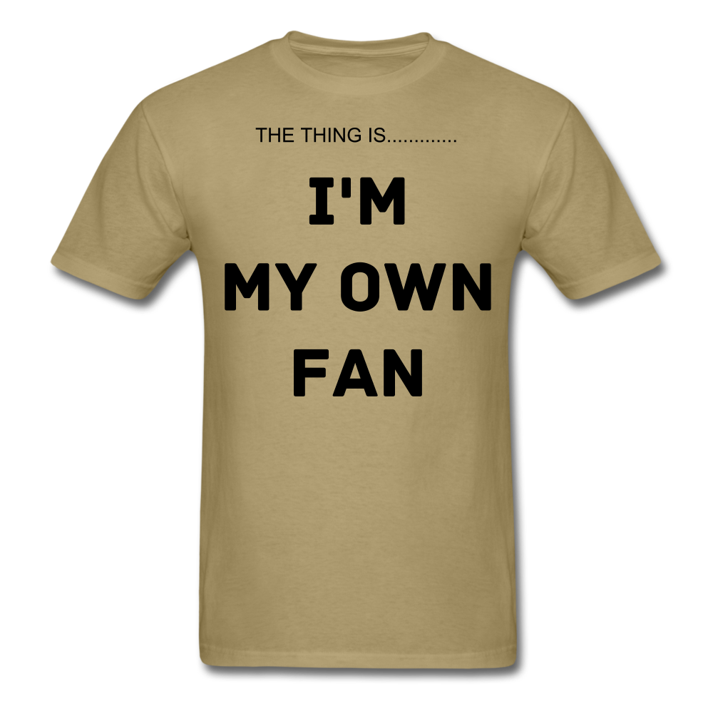 My Own Fan - khaki