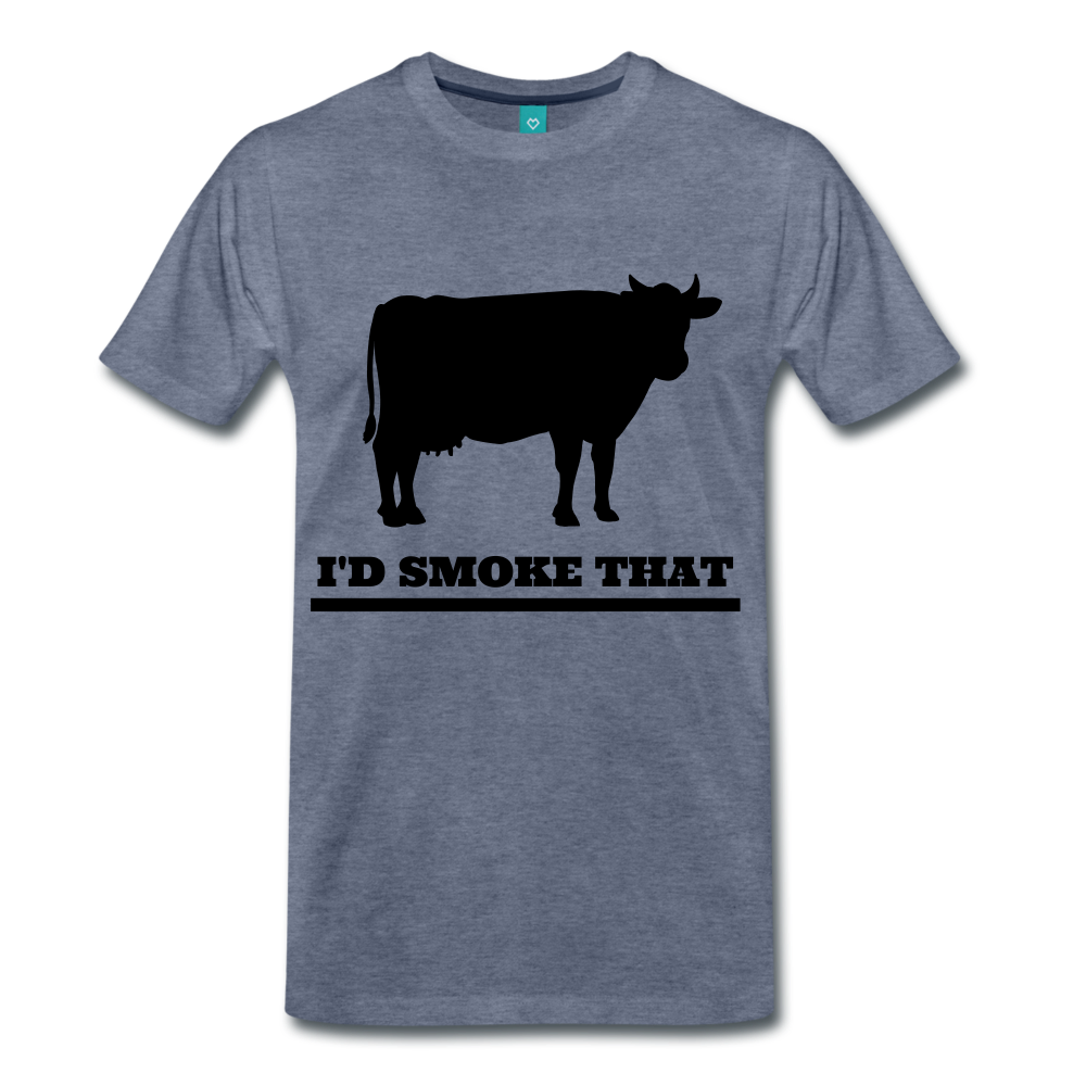 I'd Smoke That Beef - heather blue