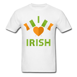 I Love Irish Tee - white