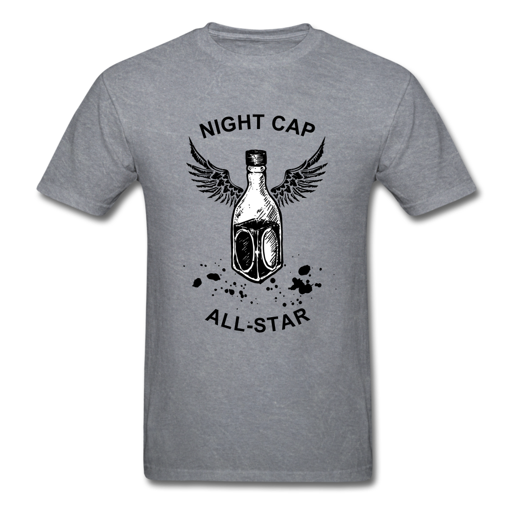 Night Cap Tee - mineral charcoal gray
