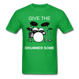 Drummer Tee - bright green
