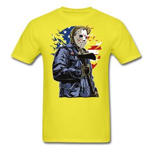 Trump Killer Tee - yellow