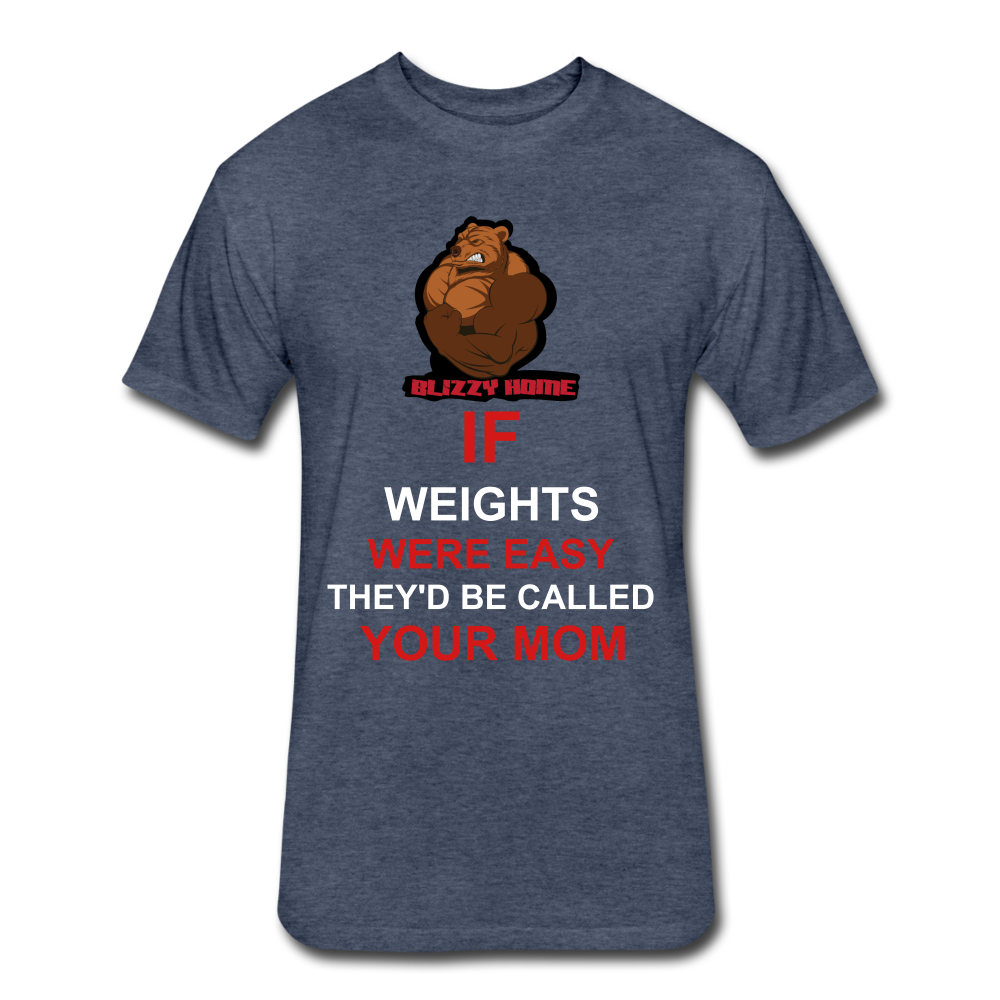 Easy Weights - heather navy