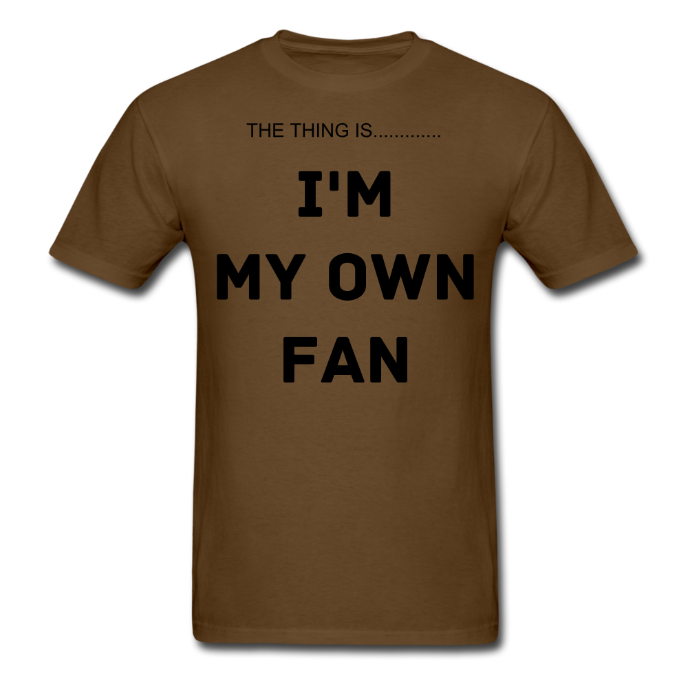 My Own Fan - brown