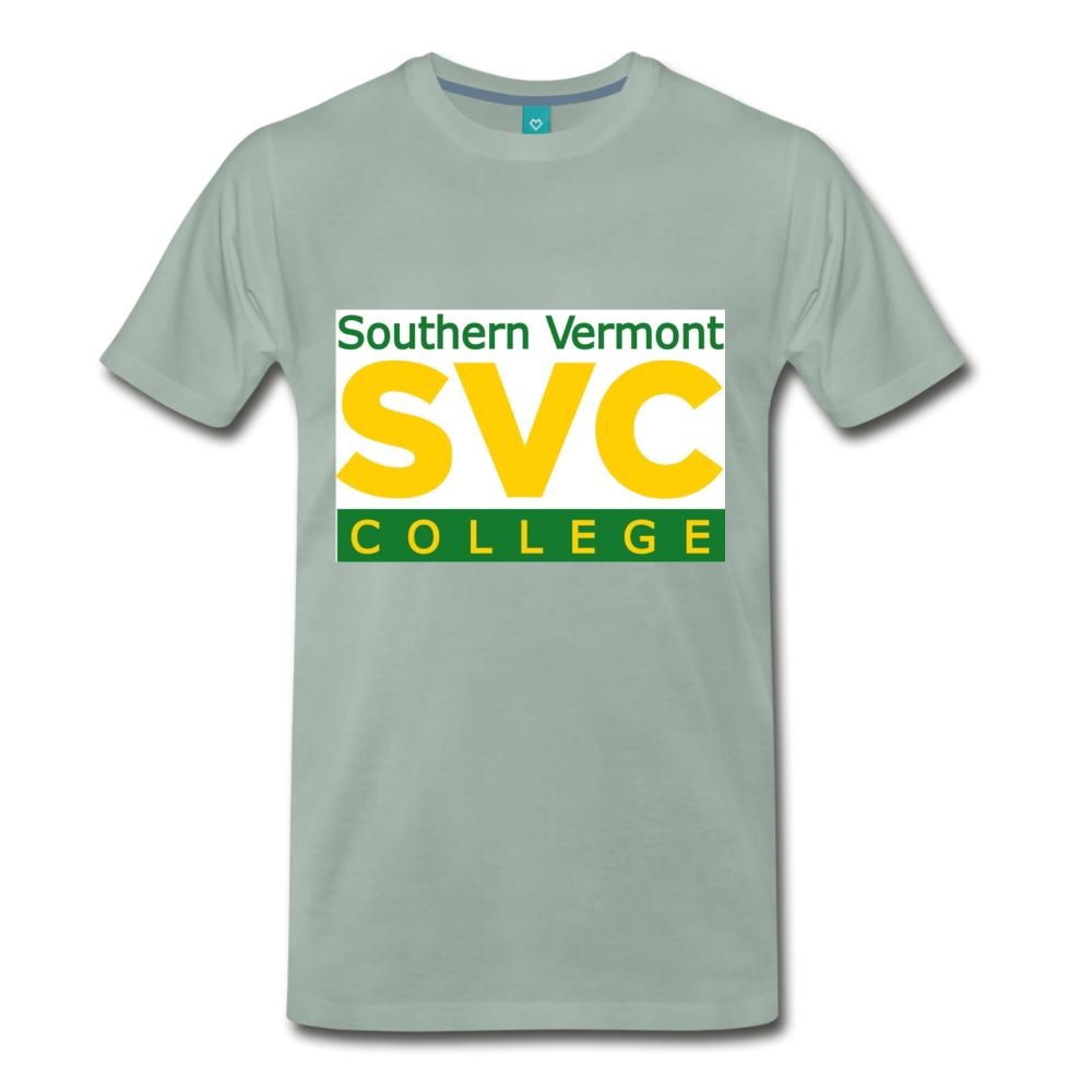 SVC Tee. - steel green