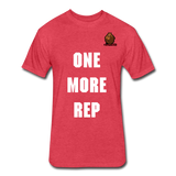 One More Rep Tee - heather red