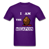 I AM THE WEAPON - purple