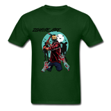 Zombie Tee - forest green