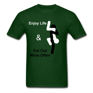 Eat Out Tee - forest green
