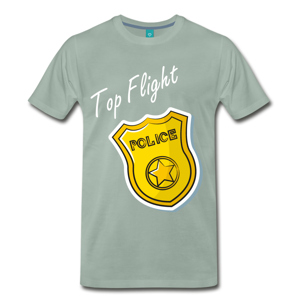 Top Flight - steel green