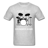 Drummer Tee - heather gray