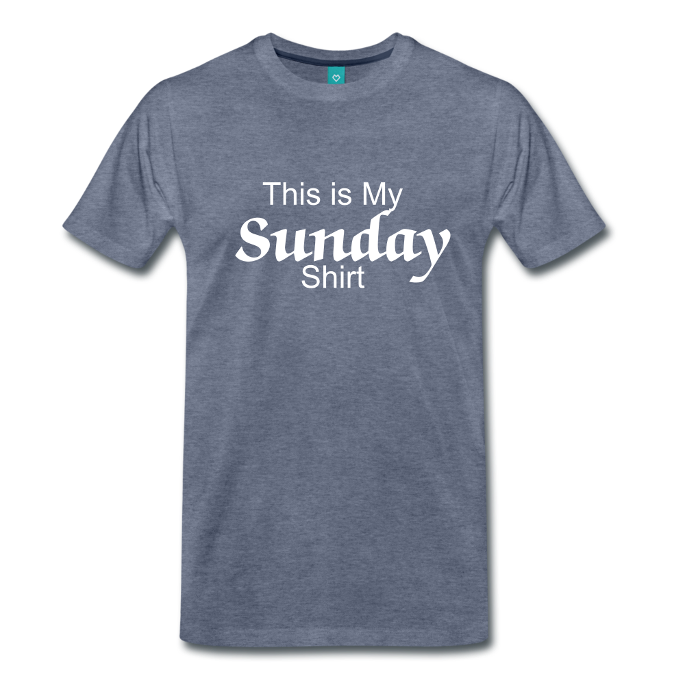 Sunday Shirt - heather blue