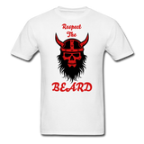 The Beard Tee - white