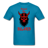 The Beard Tee - turquoise