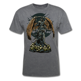 Death Angel Tee - mineral charcoal gray