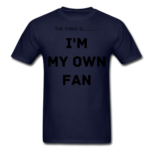 My Own Fan - navy