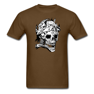 King Skull Tee - brown