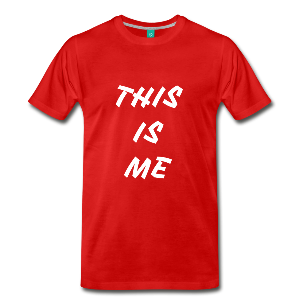 This is me Tee - red