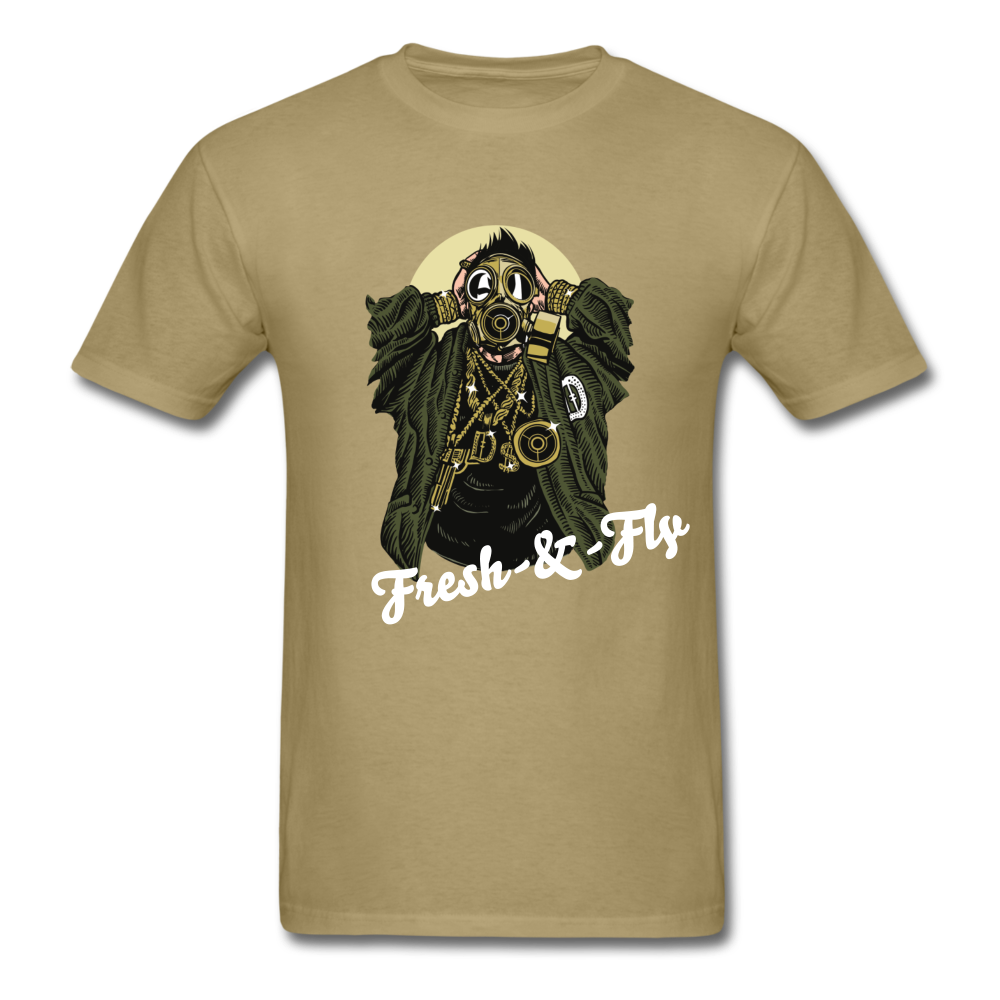 Fresh-&-Fly Tee - khaki
