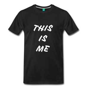 This is me Tee - black