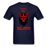 The Beard Tee - navy