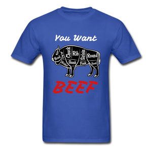 Beef Tee - royal blue