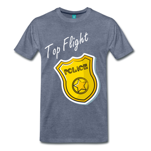 Top Flight - heather blue