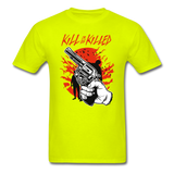 Kill Tee - safety green