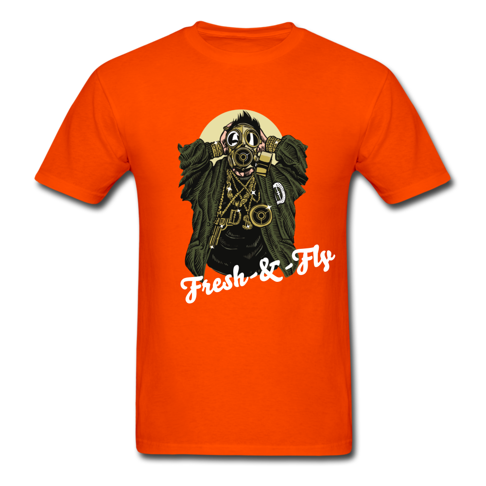 Fresh-&-Fly Tee - orange
